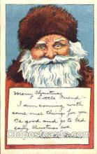 hol001460 - Santa Claus, Christmas, Postcard Postcards