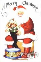 hol001464 - Santa Claus, Christmas, Postcard Postcards