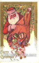 hol001472 - Santa Claus, Christmas, Postcard Postcards