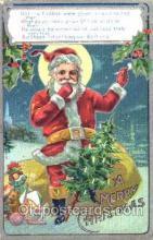 hol001477 - Santa Claus, Christmas, Postcard Postcards