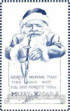 hol001479 - Santa Claus, Christmas, Postcard Postcards