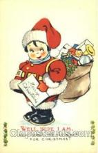hol001483 - Santa Claus, Christmas, Postcard Postcards