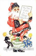 hol001505 - Santa Claus, Christmas, Postcard Postcards