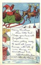 hol001508 - Santa Claus, Christmas, Postcard Postcards