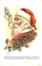 hol001521 - Santa Claus, Christmas, Postcard Postcards