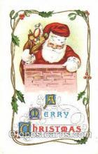 hol001535 - Santa Claus, Christmas, Postcard Postcards
