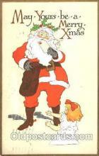 hol001536 - Santa Claus, Christmas, Postcard Postcards