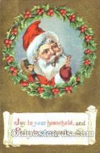 hol001541 - Santa Claus, Christmas, Postcard Postcards