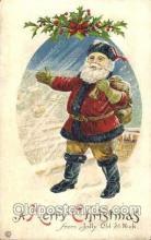 hol001550 - Santa Claus, Christmas, Postcard Postcards