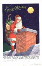 hol001563 - Santa Claus, Christmas, Postcard Postcards