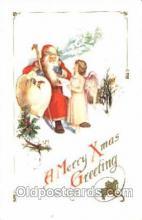 hol001580 - Santa Claus, Christmas, Postcard Postcards