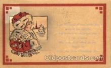 hol001594 - Whitney publishing Santa Claus, Christmas, Postcard Postcards