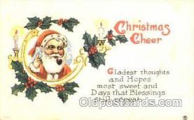 hol001598 - Santa Claus, Christmas, Postcard Postcards