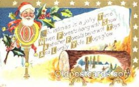 hol001604 - Santa Claus, Christmas, Postcard Postcards