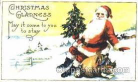 hol001605 - Santa Claus, Christmas, Postcard Postcards