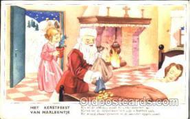 hol001608 - Santa Claus, Christmas, Postcard Postcards