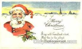 hol001610 - Santa Claus, Christmas, Postcard Postcards