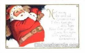 hol001618 - Santa Claus, Christmas, Postcard Postcards