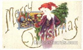 hol001619 - Santa Claus, Christmas, Postcard Postcards