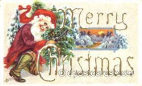 hol001622 - Santa Claus, Christmas, Postcard Postcards