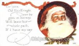 hol001629 - Santa Claus, Christmas, Postcard Postcards