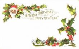 hol001635 - Santa Claus, Christmas, Postcard Postcards