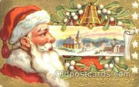 hol001638 - Santa Claus, Christmas, Postcard Postcards