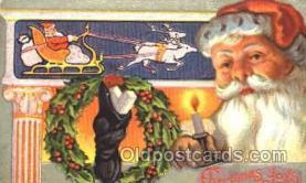 hol001649 - Santa Claus, Christmas, Postcard Postcards