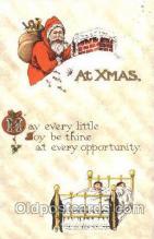 hol001661 - Santa Claus, Christmas, Postcard Postcards