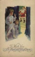 hol001683 - Santa Claus, Christmas, Postcard Postcards
