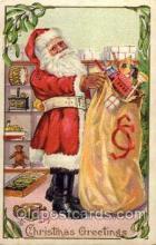 hol001686 - Santa Claus, Christmas, Postcard Postcards