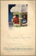 hol001689 - Santa Claus, Christmas, Postcard Postcards