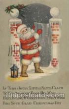 hol001696 - Santa Claus, Christmas, Postcard Postcards