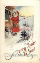 hol001697 - Santa Claus, Christmas, Postcard Postcards