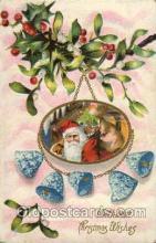 hol001705 - Santa Claus, Christmas, Postcard Postcards