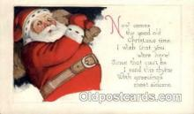 hol001729 - Santa Claus, Christmas, Postcard Postcards