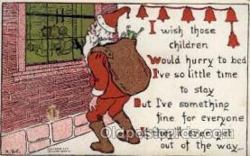 hol001730 - Santa Claus, Christmas, Postcard Postcards
