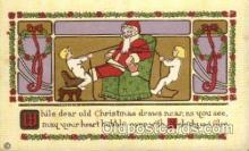 hol001751 - Santa Claus, Christmas, Postcard Postcards