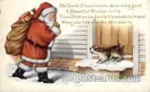 hol001760 - Whitney, Santa Claus, Christmas, Postcard Postcards