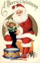 hol001783 - Santa Claus, Christmas, Postcard Postcards
