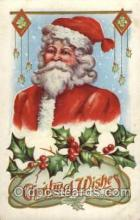 hol001787 - Santa Claus, Christmas, Postcard Postcards