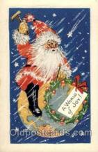 hol001796 - Santa Claus, Christmas, Postcard Postcards