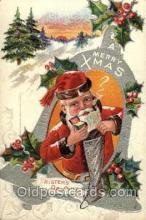hol001801 - Santa Claus, Christmas, Postcard Postcards