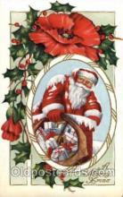 hol001808 - Santa Claus, Christmas, Postcard Postcards
