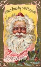 hol001810 - Santa Claus, Christmas, Postcard Postcards