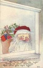 hol001811 - Santa Claus, Christmas, Postcard Postcards