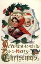 hol001815 - Santa Claus, Christmas, Postcard Postcards