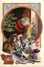 hol001816 - Santa Claus, Christmas, Postcard Postcards