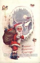 hol001820 - Santa Claus, Christmas, Postcard Postcards
