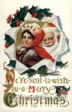 hol001822 - Santa Claus, Christmas, Postcard Postcards